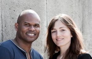 """Roué Verveer & Daphne Bunskoek voor het programma """"De Slavernij"""""""