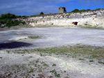 De kalkgroeve op Robbeneiland